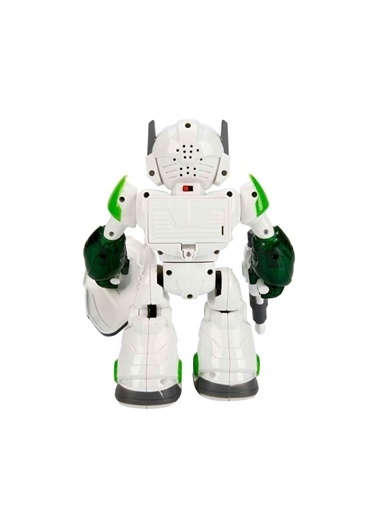 Sunman Sunman Sesli ve Işıklı Renkli Fighter Robot 22 Renkli